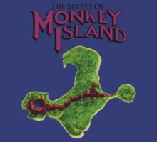Monkey Island Map Retro DOS game fan shirt T-Shirt