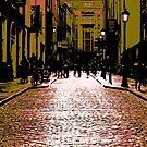 Cobbled Streets Of Old by maria mitchell
