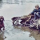Boy And His Dog by lynn carter
