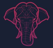 Pink Elephant by Aaron Thadathil