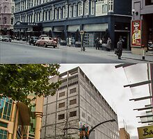 Rundle Mall - Yesterday 1960 and Today by DPalmer