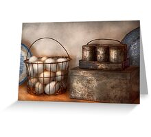 Kitchen - Food - Eggs - Fresh this morning Greeting Card