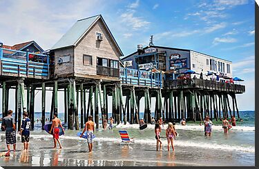 Summer fun at the Pier by Poete100