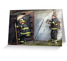 Fireman - Hats - Pick a hat, any hat  Greeting Card