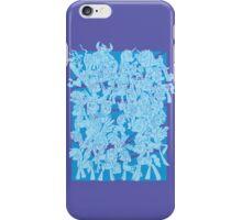 mlp - Rainbow dash blue iPhone Case/Skin