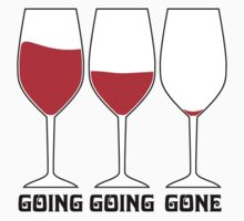 Going Going Gone Wine by GeekLab