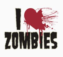 I Love Zombies by GeekLab
