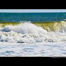 Atlantic Ocean Wave - Westhampton Beach  by © Sophie Smith