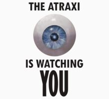 The Atraxi Is Watching You by rycbar321