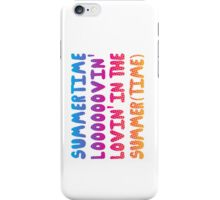 Summertime Lovin' iPhone Case/Skin