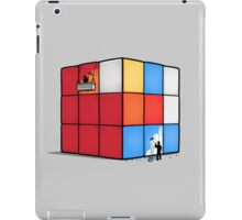 Solving the cube iPad Case/Skin