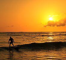 Waikiki Sunset by HawaiiLoving