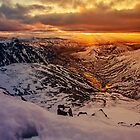 Sunrise over the Langdale Valley by David Lewins LRPS