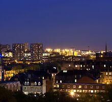 Glasgow West End Skyline by Victoria Barnet