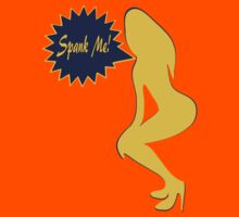 ??Spank Me-Naughty Bewitching Woman on Stiletto Heels Clothing & Stickers?? by Fantabulous