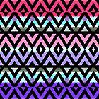 Mix #319 - Aztec Design by Orna Artzi