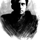 DARK COMEDIANS: Steve Carell by Zombie Rust