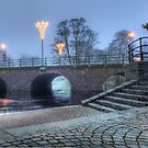Riksväg 1 - Bridge over Lagan - Värnamo (panorama) by João Figueiredo