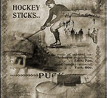 Vintage Hockey by Crista Peacey