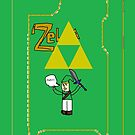 Legend of Zelda iPhone Case by DigimonMaster