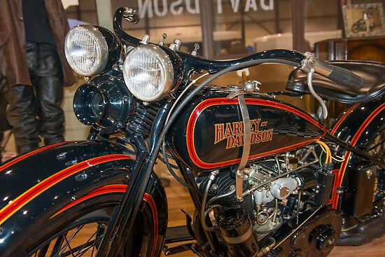 1929 Harley DL by Bill Spengler