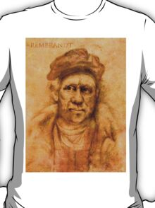 Rembrandt from his self portrait T-Shirt