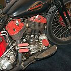 Old Harley Davidson by Bill Spengler