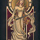 Shieldmaiden of Rohan by Christadaelia