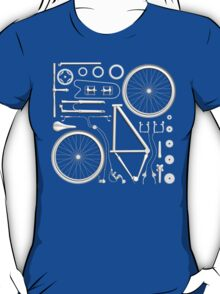 Exploded Bicycle T-Shirt