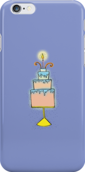 HAPPY BIRTHDAY New baby or Congratulations cute cake by jazzydevil