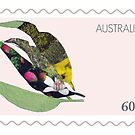 Stamp series: Eucalypt by drunkonwater