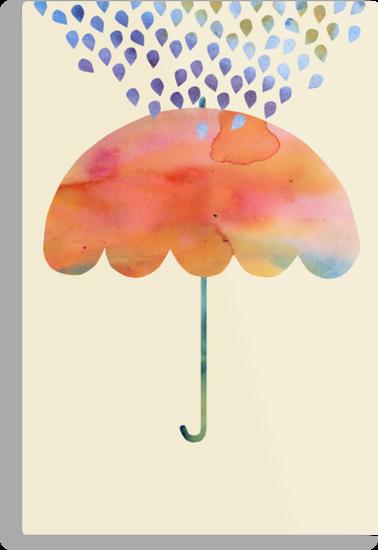 Rainbow Umbrella by Kanika Mathur