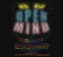 An OPEN Mind by TeaseTees