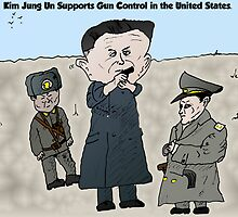 Drawing Fire By North Korea's Kim Jung Un by Binary-Options