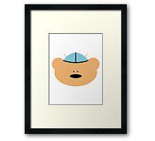 Teddy Bear Viking Framed Print