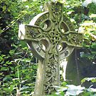 Highgate Cemetery Celtic Cross by himmstudios