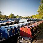 Gayton Marina Grand Union Canal by Ralph Goldsmith