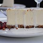 Cheesy cheesecake  by Elinor Barnes