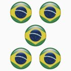 Brazil ×5 by csyz ★ $1.49 stickers