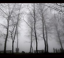 people foggy day by Mustafa UZEL