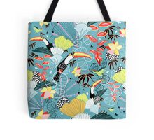 tropical birds Tote Bag