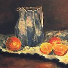 Oranges by Halina Plewak