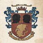 MERLIN medieval crest by koroa