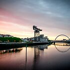 Glasgow summer morning sunrise by saabbhoy