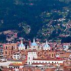 Overlooking Cuenca, Ecuador by Paul Wolf