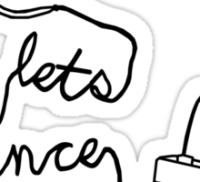 Let's Dance (cable) - Footloose Sticker