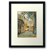 Fall motive Framed Print