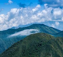 Andes Peaks Near Quito, Ecuador by Paul Wolf