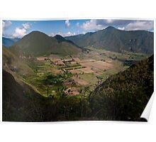 Pululahua Crater in Ecuador 2 Poster
