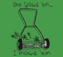 She grows I mows by Nicole  McKinney